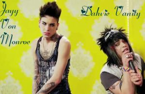 Dahvie Vanity and Jayy Von Monroe by BlackKnight142