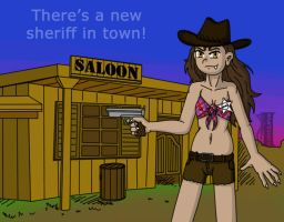 There's a new sheriff in town! by illionore