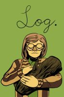 Log Lady by angieness