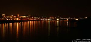 Warsaw by Night by Dhante