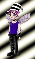 Boy Goth Fairy by MadamGoth