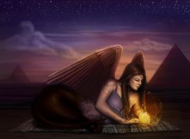 Sphinx by Chellyrose