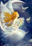 Angel with pigeons by Fantasy-fairy-angel