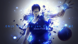 Wallpaper - Aomine Daiki by kikiaryos