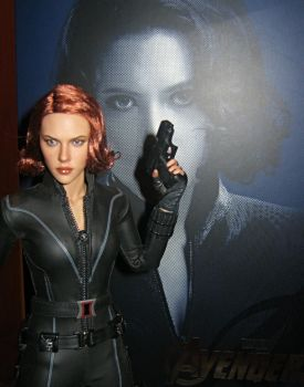 Black Widow Action Figure by Hot Toys by paulafrye