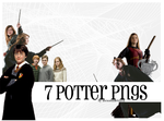 Potter PNG Pack by inexorabletruth