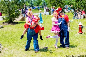 ColossalCon 2015 - Nintendo Photoshoot 09 by VideoGameStupid