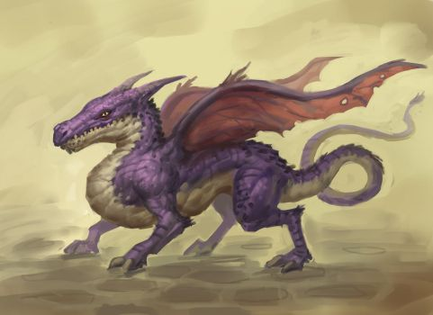 Daily Purple Dragon by Sam-Peterson