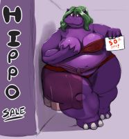 HIPPO SALE by Kazecat