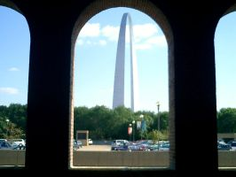 Arch From Metro Station by sluffies