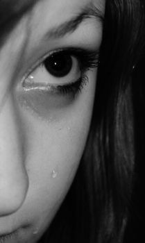 Tears are the cracks in the mask. by VampirexxKissesxx