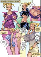 Breast Expansion Through Different Clothes by expansion-fan-comics