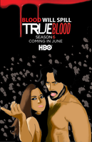 True Blood Poster Contest Season 6 by TrueArtist89