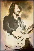 Dave Grohl by Aleeeek