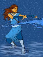 katara colored by FunkBlast