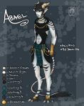 Abael Reference Sheet by Frosted-Monster
