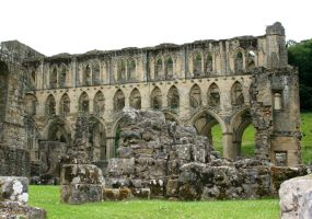 Rievaulx Abbey 40 - Stock by GothicBohemianStock