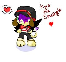 Kyo- I DIDNT DRAW THIS by werewolfpokemon
