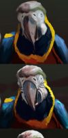 Photo Study: Macaw Steps by TwoDD