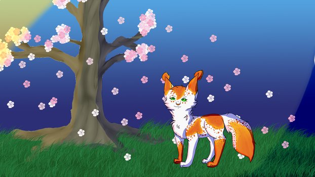 Apple Blossoms by Rosefinch03