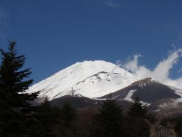 Mount Fuji by CanisDiabolos