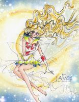 Super Sailor Moon - el enviado del bien by zelldinchit