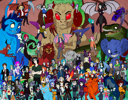 11th Anniversary Cast Picture! by Amelius
