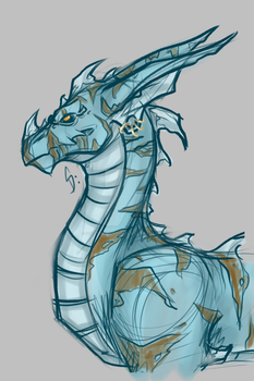 2-27-2017 Dragon Warm Up by ShorterThanTheEeasel
