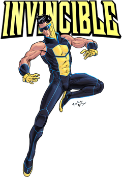 Invincible Redesign by Scadilla