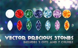 Vector Precious Stones by rfertner