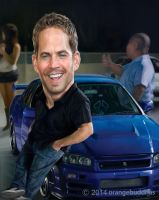 Paul-walker (1) by orangebuddhas