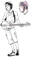 Bassist - Jack Tabasco by kurenai-anemone