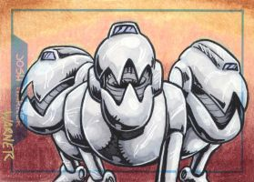 Mouser sketch card by JLWarner