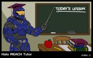Halo REACH Tutor by ZZoMBiEXIII