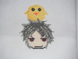Prussia cross stitch by dottypurrs