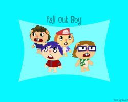 Happy Tree Fall Out Boys by De-JaY