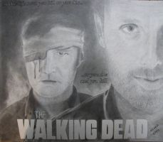 The Walking Dead by TheAvatar1213