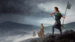 Gaels in the highlands by Skvor