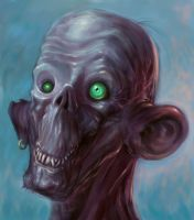 The Jolly Zombie by ScottPurdy