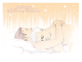 Mystrade - My darling Teddybear by RedPassion