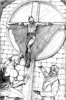 Batman Crucifixion 5 by J-WRIG