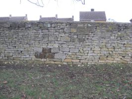 Stone Wall by Stock-Karr