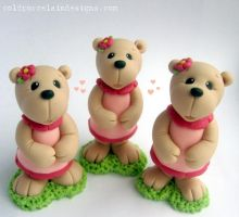 Claire Bears by i-be-c
