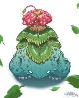 Pokemon- Venusaur by MarcosMachina