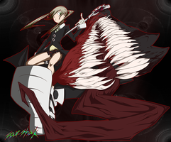 Maka and Demon Soul by Sour-Shock