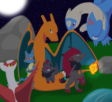 Request: Team of Six by umbreonespeon