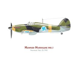 Hawker Hurricane hc-452 by MercenaryGraphics