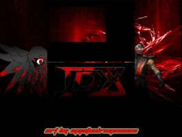 TDX Bloodshot YT Background by TotalDramaXtremist