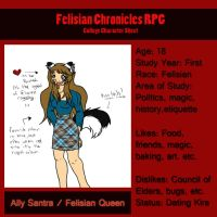 FC: Ally Character Sheet by Miss-Mae
