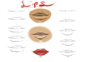 Lips by Mama-Moose